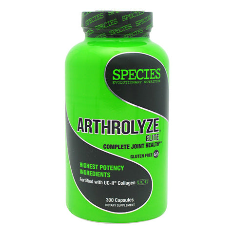 Species Nutrition Arthrolyze Elite - 300 Capsules - 855438005932