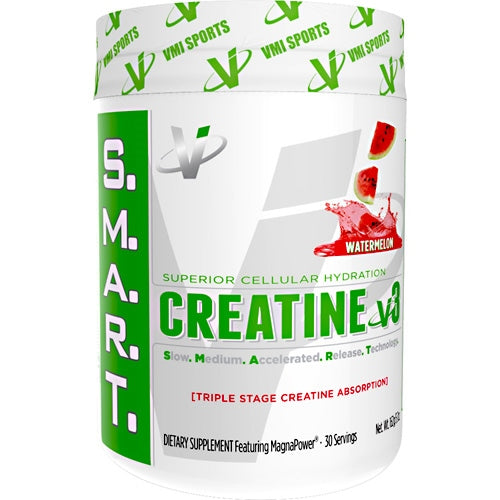 Creatine v3 - VMI Sports S.M.A.R.T. - Watermelon - 30 Servings