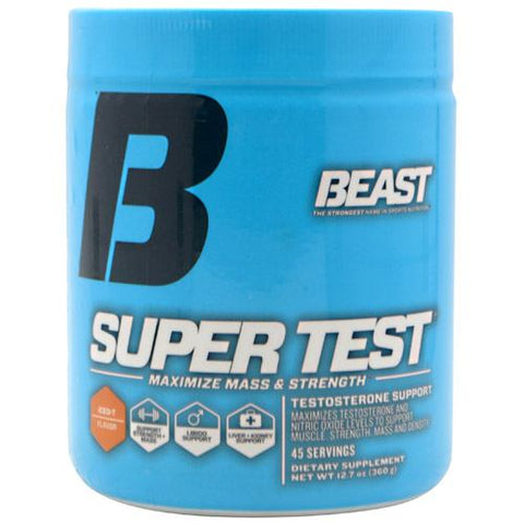 Beast Sports Nutrition Super Test - Iced T Flavor - 45 Servings - 631312704517