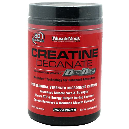 Creatine Decanate Muscle Meds DecaDrive  - Unflavored - 60 Servings