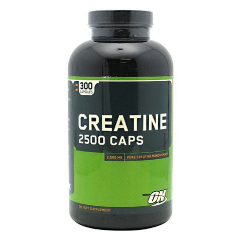 Optimum Nutrition Creatine 2500 Caps - 300 Capsules - 748927021356