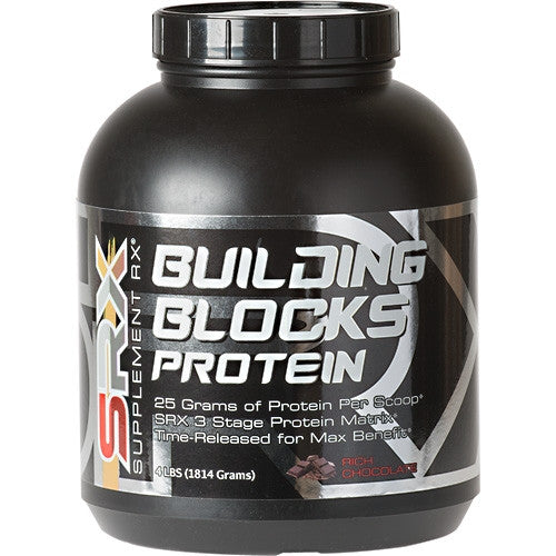SUPPLEMENT RX Building Blocks Protein - Supps360.com - 3