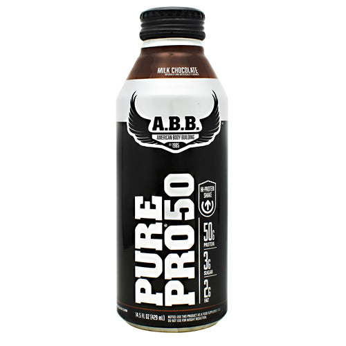 ABB Pure Pro 50 - Milk Chocolate - 12 Bottles - 00045529856660