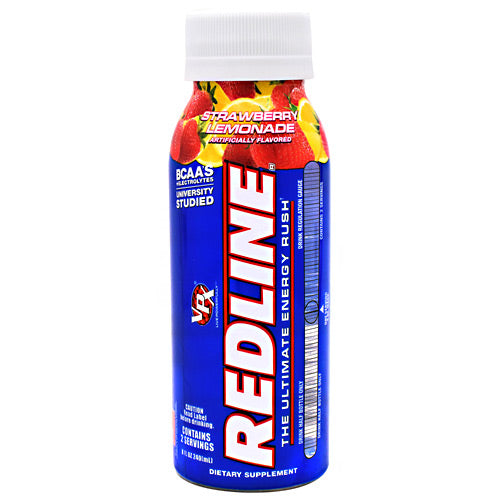 VPX Redline RTD - Strawberry Lemonade - 24 Bottles - 610764120366