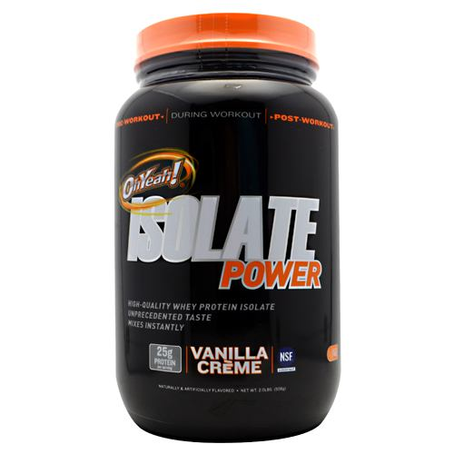 ISS Isolate Power -Flavor Vanilla Creme -Research OhYeah!