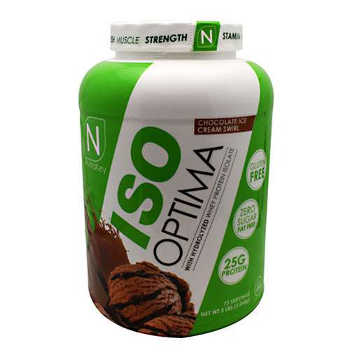 Protein Powder Iso Optima - NutraKey Chocolate Ice Cream Swirl