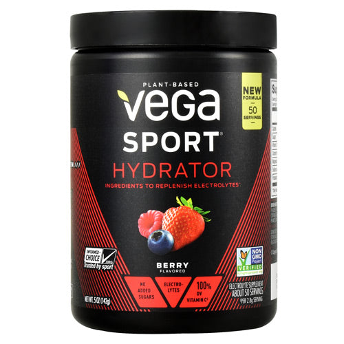 Vega Sport Hydrator - Berry - 50 Servings - 838766007625