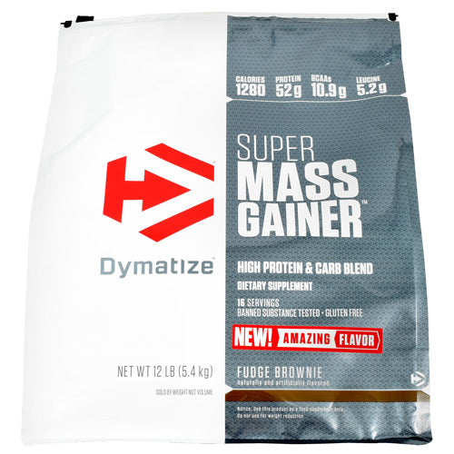 Purchase Dymatize Super Mass Gainer - Vanilla - 12 lb