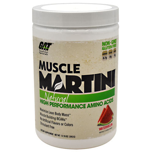 GAT Natural Muscle Martini - Watermelon - 30 Servings - 859613000132