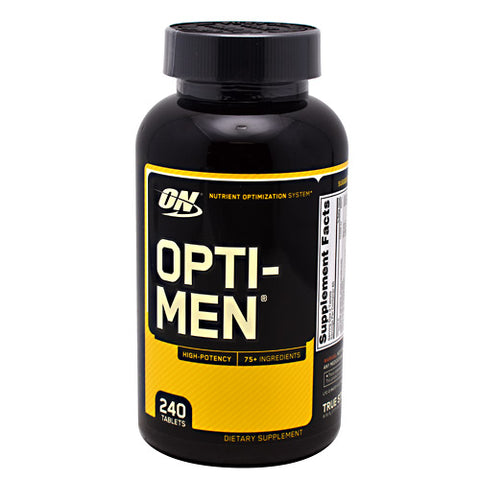 Optimum Nutrition Opti-Men - 240 Tablets - 748927052497