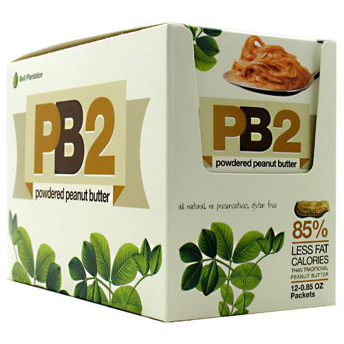 Bell Plantation PB2 Powder - Peanut Butter - 12 Packets - 10850791002113
