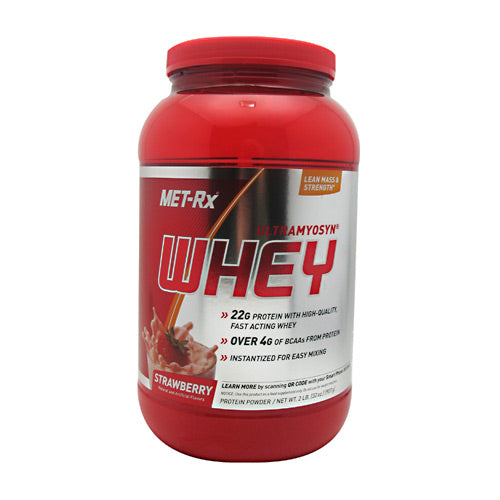 Met-Rx USA 100% Ultramyosyn Whey - Strawberry -