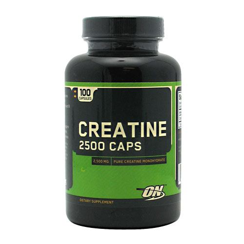 Creatine Pure Monohydrate 2500 Caps , Optimum Nutrition