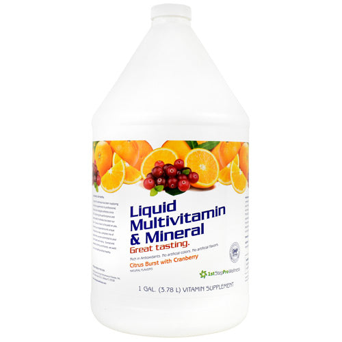 High Performance Fitness Liquid Multivitamin & Mineral - Citrus Burst with Cranberry - 1 gallon - 673131100118