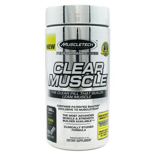 Clear Muscle dietary Supplement | Muscletech- 168 ea -