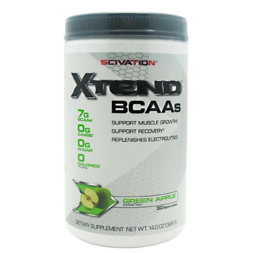 Scivation Xtend - Green Apple Explosion! - 30 Servings - 181030000137