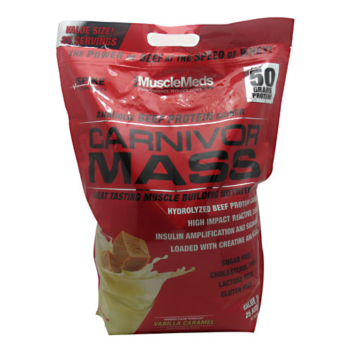 Carnivor Mass - MuscleMeds Protein Powder of Beef Protein