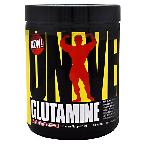 Universal Nutrition Glutamine - Fruit Punch - 300 g - 039442046680