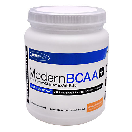 USP Labs Modern BCAA+ - Mango Orange - 30 Servings - 094922014061
