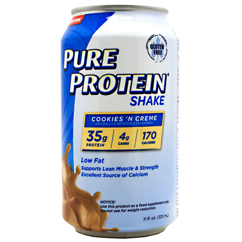 Pure Protein Pure Protein Shake - Cookies N Crème - 12 Cans - 00749826168913