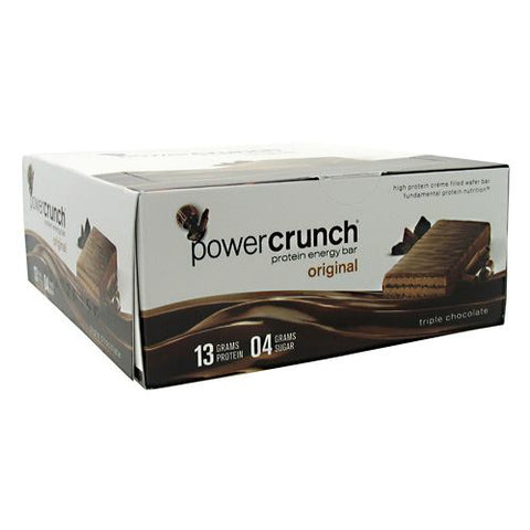 Power Crunch Power Crunch - Triple Chocolate - 12 ea - 644225722837