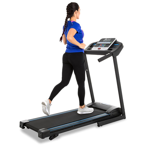 XTERRA TR150 Folding Treadmill Black
