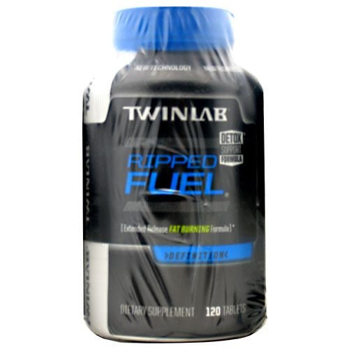 TwinLab Ripped Fuel - 120 Tablets - 027434035989