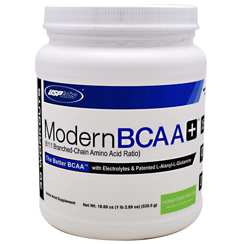 USP Labs Modern BCAA+ - Honeydew Melon - 30 Servings - 094922017000