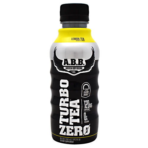 Turbo Tea Zero Protein Shake- Lemon Tea - 12 Bottles - ABB