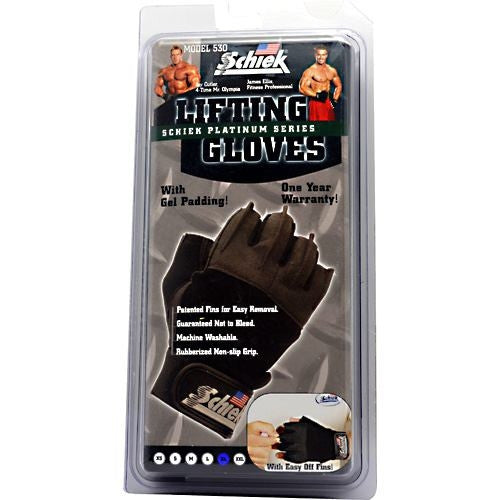 Schiek Platinum Series Platinum Series Lifting Gloves - Supps360.com - 3