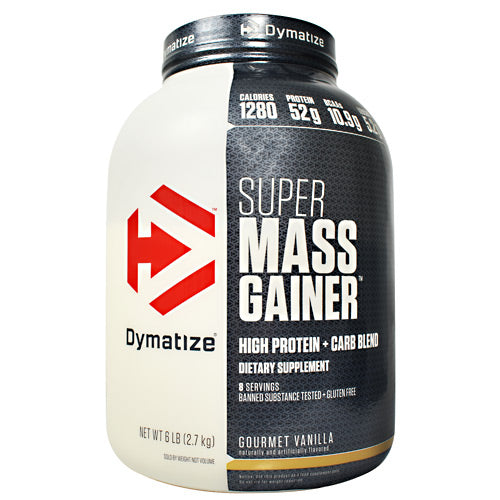 Avail Dymatize Super Mass Gainer - Vanilla - 12 lb