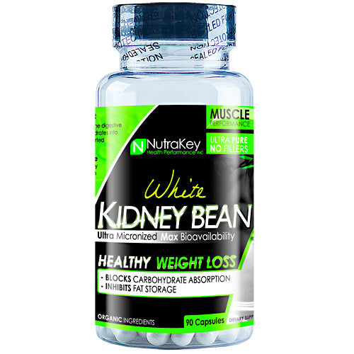 Nutrakey White Kidney Bean Extract - 90 Capsules - 045635774797
