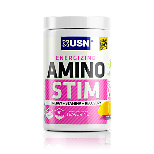 Usn Cutting Edge Series Amino Stim - Pink Lemonade - 30 Servings - 6009706098698