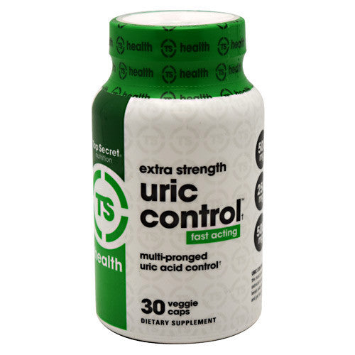 Top Secret Nutrition Uric Control - 30 ea - 811226021584