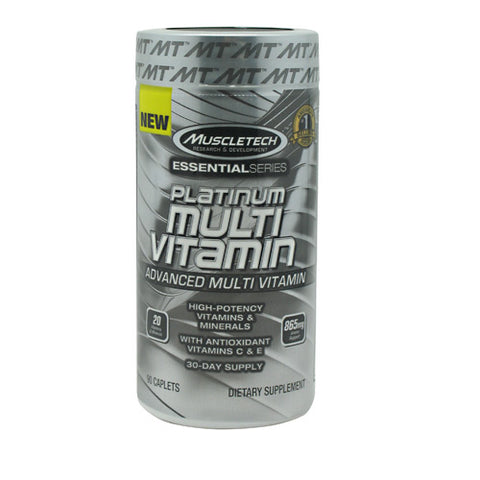 Muscletech Essential Series Platinum Multi Vitamin - 90 Capsules - 631656604498