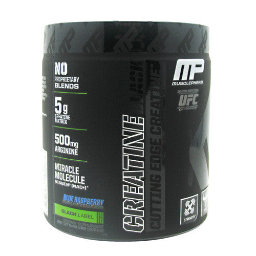 Creatine Black - Muscle Pharm Black Series - Blue Raspberry