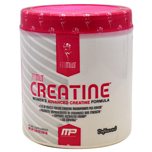 Creatine - Fit Miss - mp - Unflavored - 30 Servings