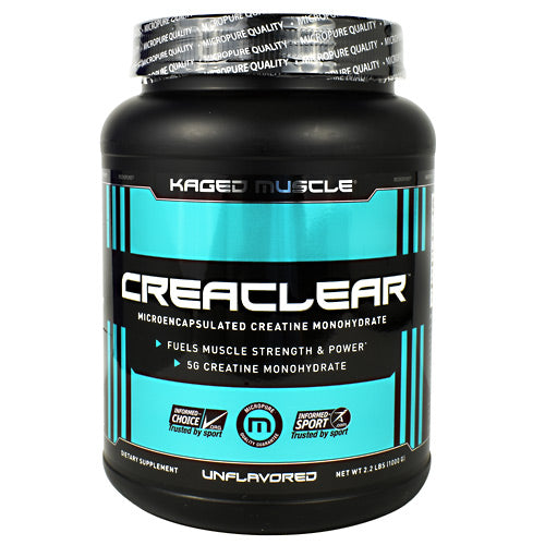 CreaClear - Creatine Monohydrate - Kaged Muscle - Unflavored
