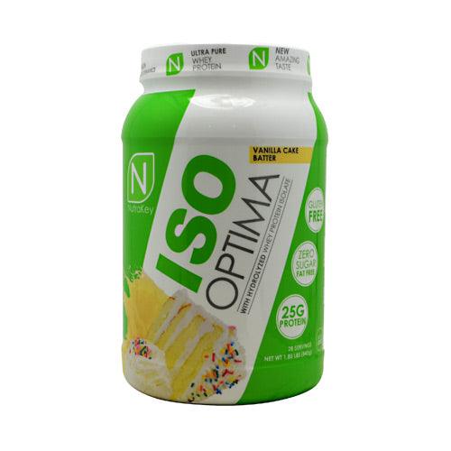 Protein Powder Iso Optima - Vanilla Cake Batter  2 lb