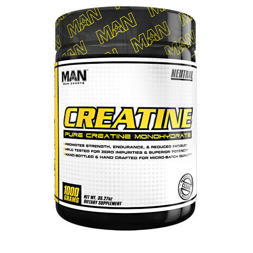 MAN Sports Creatine - Neutral - 1000 g - 853360006416