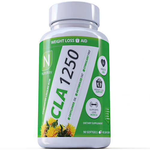 Nutrakey CLA 1250 - 90 Softgels - 851090006577