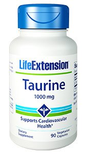 Life Extension Taurine 1000 mg - 90 Caps