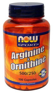 NOW Sports Arginine/Ornithine