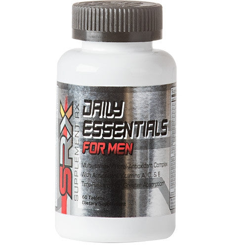 SUPPLEMENT RX Daily Essentials for Men - Supps360.com - 1