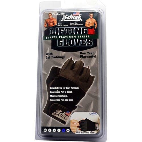 Schiek Platinum Series Platinum Series Lifting Gloves - Supps360.com - 2
