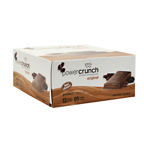 BNRG Power Crunch - Mocha Creme - 12 ea - 644225722202