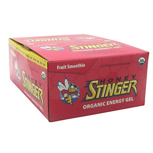 Honey Stinger Organic Energy Gel - Fruit Smoothie - 24 Packets - 810815020441