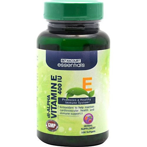 Betancourt Nutrition Betancourt Essentials Vitamin E - Supps360.com