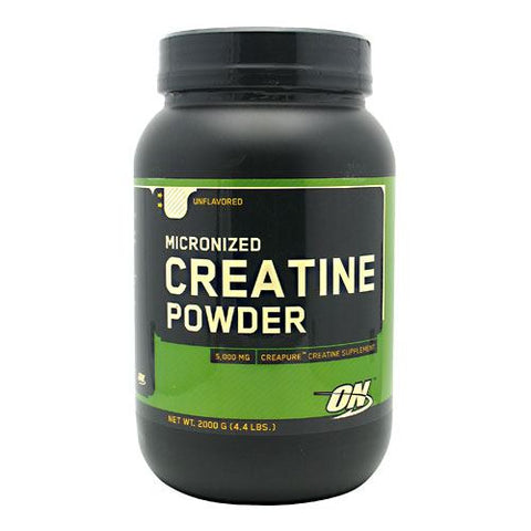 Optimum Nutrition Micronized Creatine Powder - Unflavored - 2000 g - 748927025750