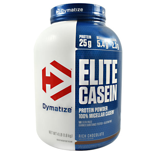 Dymatize Elite Casein - Rich Chocolate - 4 lb - 705016226160